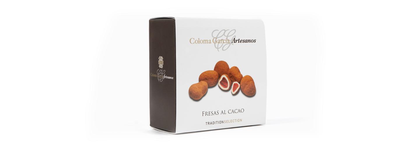 Fresas al cacao