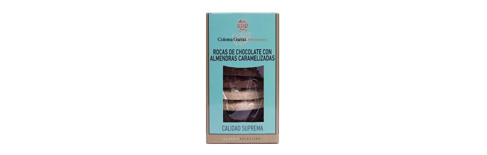 rocas chocolate con almendra