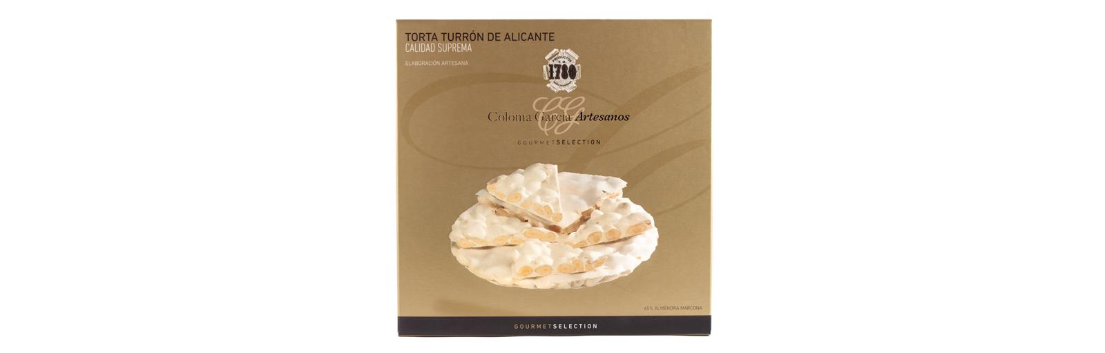 TORTA TURRON DE ALICANTE GOURMET