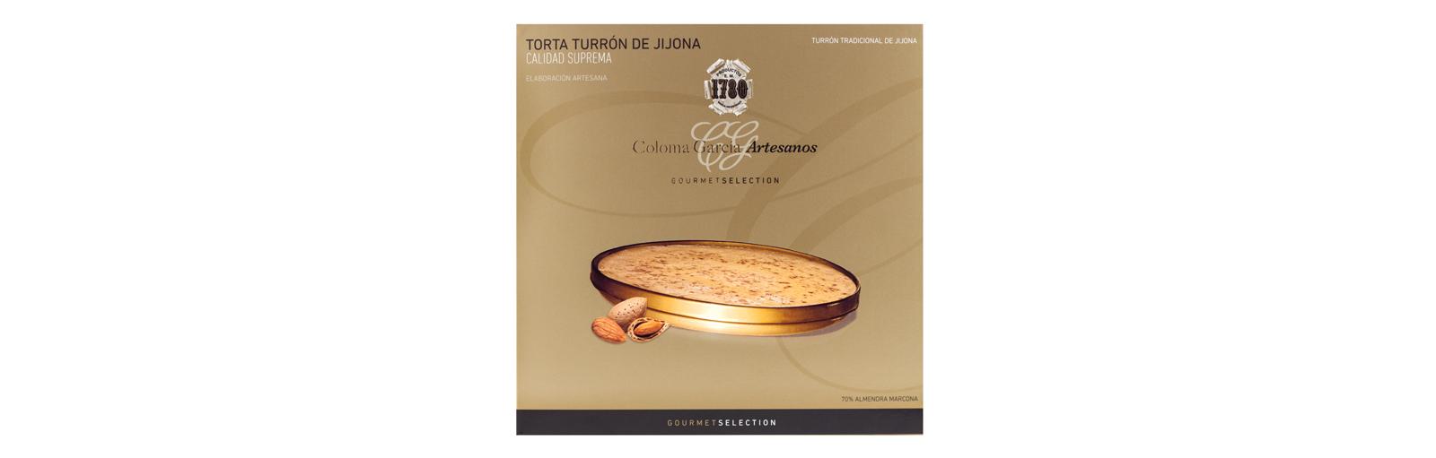 TORTA TURRÓN DE JIJONA GOURMET