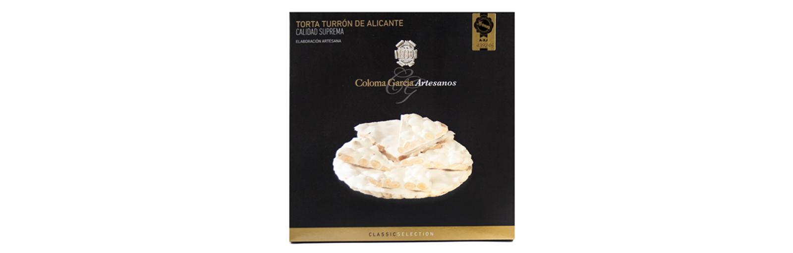 TORTA DE TURRON DE ALICANTET