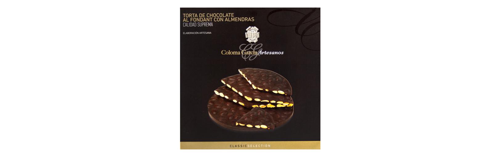 TORTA DE CHOCOLATE AL FONDANT