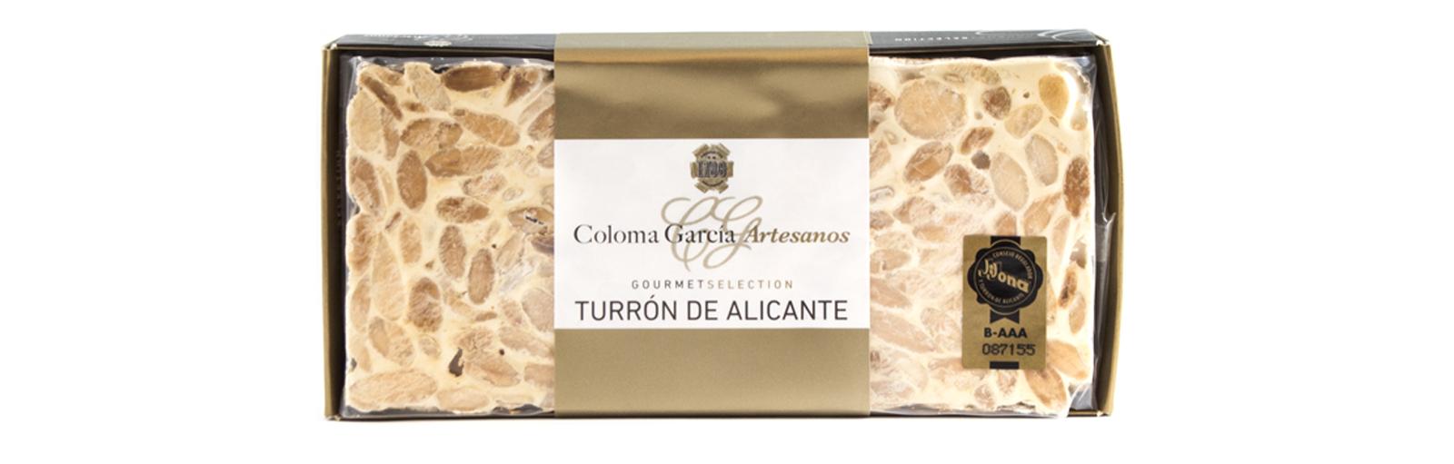 TURRÓN DE ALICANTE RILSAN GOURMET
